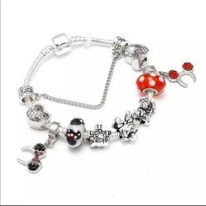 Jewelry - Brand New Minnie Mickey Mouse Charm Bracelet